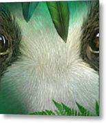 Wild Eyes - Giant Panda Metal Print
