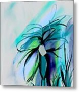 Wild Flower Abstract Metal Print