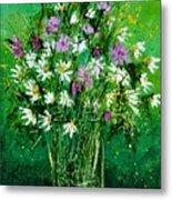 Wild Flowers 450150 Metal Print