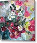 Wild Flowers Bouquet 01 Metal Print