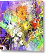 Wild Flowers Bouquet 02 Metal Print