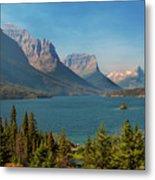 Wild Goose Island - Glacier National Park Metal Print