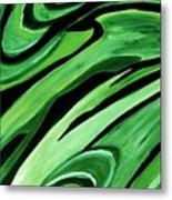 Wild Green Metal Print