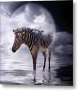 Wild In The Moonlight Metal Print