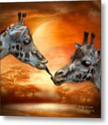 Wild Kisses Metal Print