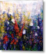 Wild Meadow Flowers Metal Print