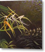 Wild Orchids Metal Print