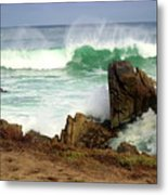 Wild Pacific Two Metal Print
