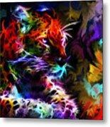 Wild Puma Colors Metal Print