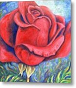 Wild Rose Two Metal Print