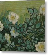 Wild Roses Saint-remy-de-provence, May-june 1889 Vincent Van Gogh 1853 - 1890 Metal Print