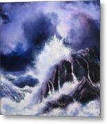 Wild Sea Metal Print