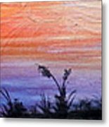 Wild Sunset Metal Print