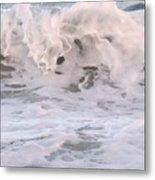 Wild Surf Metal Print