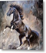 Wild Thing Metal Print by Jeanne Newton Schoborg