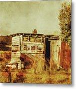 Wild West Australian Barn Metal Print