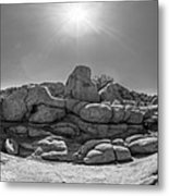 Wild West Rocks Metal Print