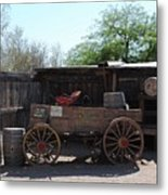 Wild West Still Life Metal Print