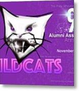 Wildcat 90 Logo Semi Comp4 Metal Print