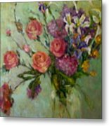 Wilde Irish Roses                  Copyrighted Metal Print