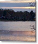 Wilde Lake At Sunset Metal Print