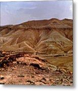 Judean Desert Metal Print