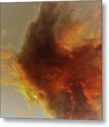 Wildfire Sunset Metal Print