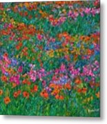 Wildflower Magic Metal Print