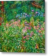 Wildflowers Near Fancy Gap Metal Print