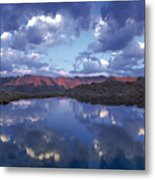 Wildhorse Lake Metal Print