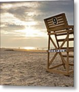 Wildwood Crest New Jersey Sunrise Metal Print