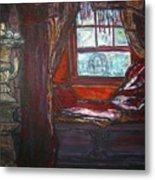 Wilhelmina's Windowseat Metal Print