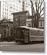 Wilkes Barre Pa Public Square Oct 1940 Metal Print