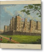Wilkinson, Robert  58 Cornhill Windsor Castle Published 7 Aug 1813 Metal Print