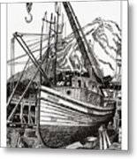 Will Fish Again Another Day Metal Print