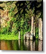 Willamette River Reflections 3783 Metal Print
