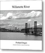 Willamette River Metal Print