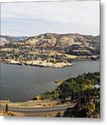 Willamette Valley Panorama Metal Print