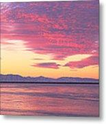 Willard Bay State Park, Near Great Salt Metal Print