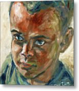 Willful Boy Metal Print