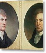 William Clark 1770-1838 And Meriwether Metal Print