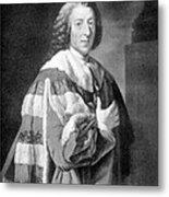 William Pitt, Prime Minister Of Britain Metal Print