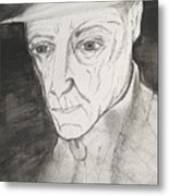 William S. Burroughs Metal Print