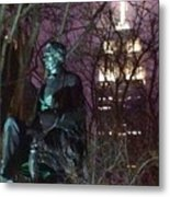 William Seward And Empire State Building 1 Metal Print