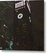 William Seward And Met Life Tower Metal Print