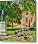 Williamsburg Cannon Metal Print
