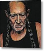 Willie Metal Print by Someone Jenkins