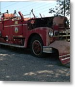 Willig Collection 6 Fire Truck Metal Print