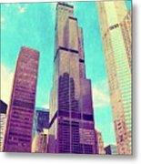Willis Tower - Chicago Metal Print