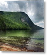 Willoughby Lake In Westmore Vermont Metal Print